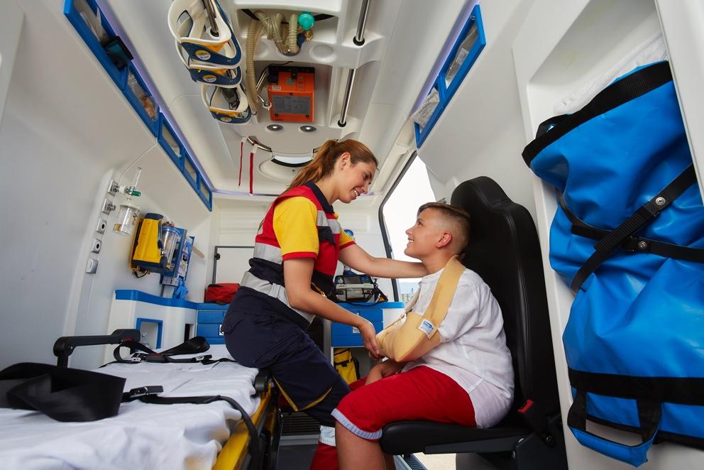 Transporte sanitario para eventos en toda la Comunidad Valenciana