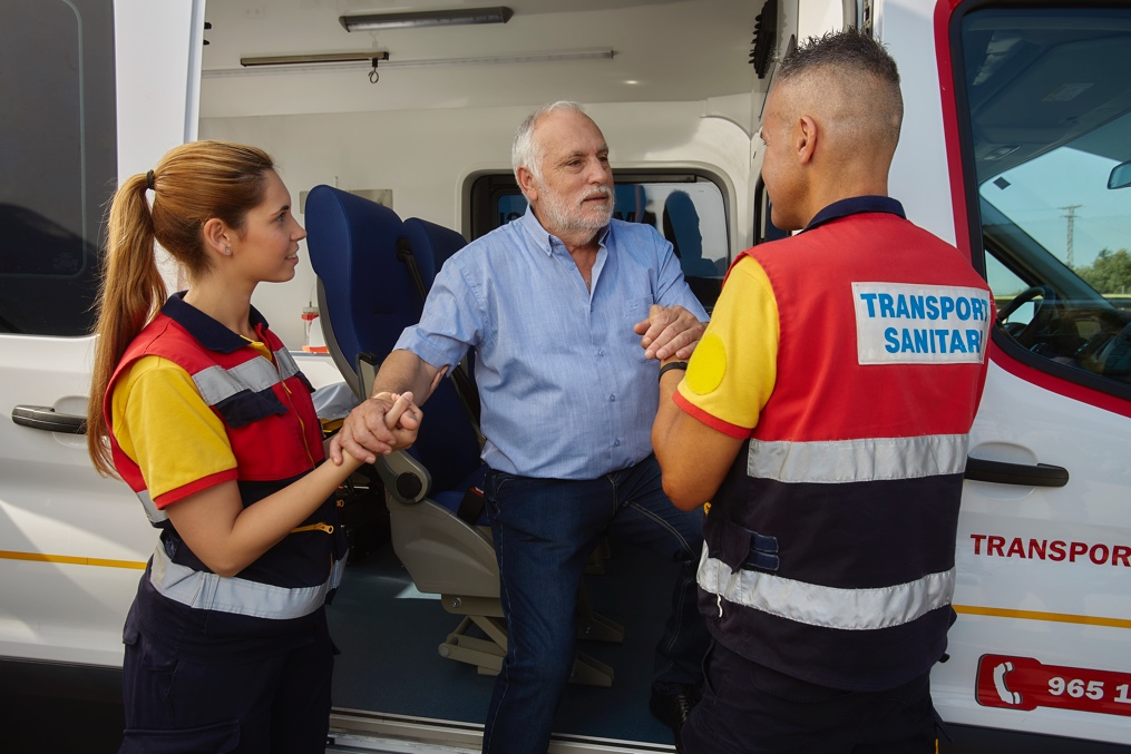 El transporte sanitario no urgente que estás buscando